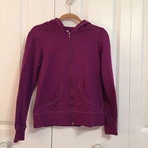 Columbia Purple Zippered Hoodie Size Medium
